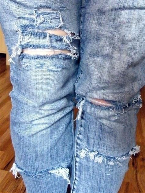 ripped jeans   rip  pair  ripped jeans