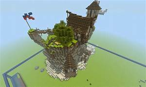Medieval Farm On An Island Minecraft Project