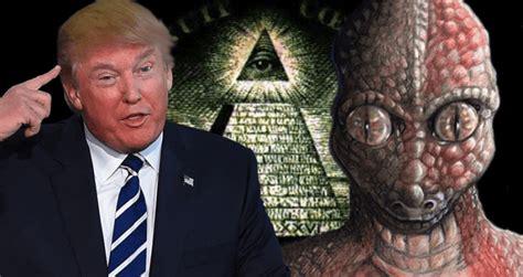 trump win gallagher    lizard person