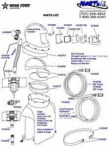 Nova 2000 Blast Hood Parts Diagram