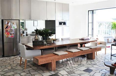 la table avec banquette parfaite pour la salle 224 manger