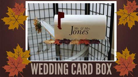 diy wedding crafts collab w nianicole wedding card box