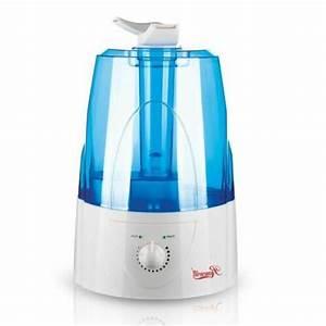 Homech Cool Mist Humidifier  Quiet Ultrasonic Humidifier