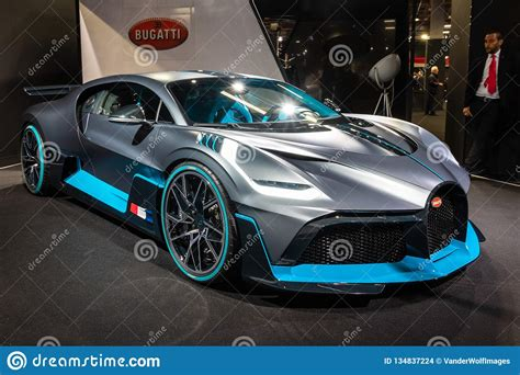 The bugatti divo is named after albert divo who was a french racer for bugatti back in the 1920s. New 2020 Bugatti Divo Extreme Hypercar Editorial Stock Image - Image of vehicle, expensive ...