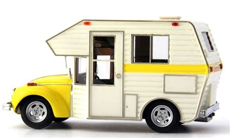 Vw Kaefer Automatisches Klappdach by Auto Cult Scale 1 43 Vw Volkswagen Beetle Minihome