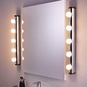 applique liz sans ampoule 5 e14 leroy merlin With salle de bain design avec grosses ampoules décoratives