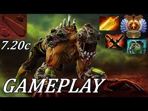 dota 2 7 20 total ownage lifestealer ranked gameplay commentary youtube