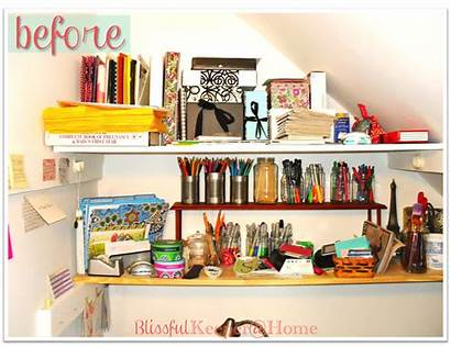 Arranging Drawers Closet Shelves Before Plastic Blissful