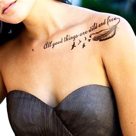 Top 50 Des Tatouages Avec Une Citation Ou Un Message
