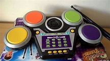 HEAR THE ROCK TUNES TOY ELECTRONIC DRUM MACHINE - YouTube