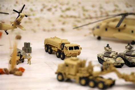 ds  diorama sheet  military fieldbdesert