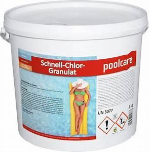 Chlorgranulat 5 Kg : cranpool schnell chlorgranulat 5 kg lagerhaus ~ Watch28wear.com Haus und Dekorationen