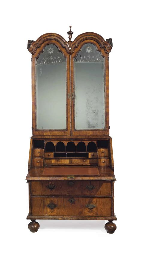 rack kitchen cabinet a walnut domed bureau cabinet circa 1710