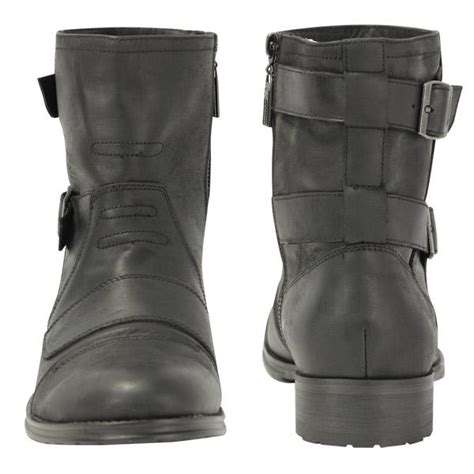 buckle motorcycle boots xelement mens double buckle motorcycle boot size 10 ebay
