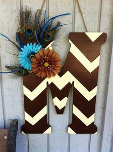 chevron letter door hanger chevron letter door hangings With letter hangers