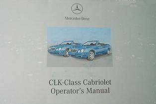 service manuals schematics 1998 mercedes benz clk class engine control 2002 mercedes benz clk class cabriolet factory owner s manual portfolio
