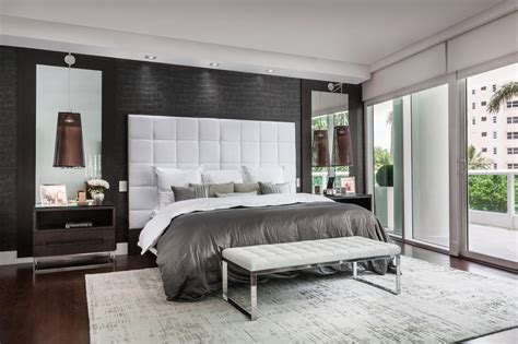 Stuning Grey Contemporary Bedroom Ideas-mosca Homes