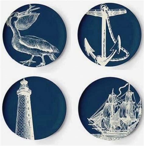 vintage nautical  pc melamine dinnerware set room pinterest melamine dinnerware sets
