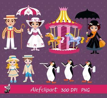 Poppins Clipart Poppins Clip By Alefclipart Teachers Pay Teachers