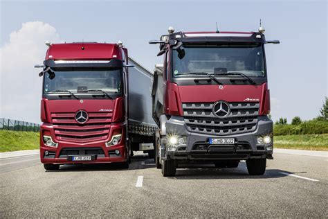 actros launched   iaa truck show commercial