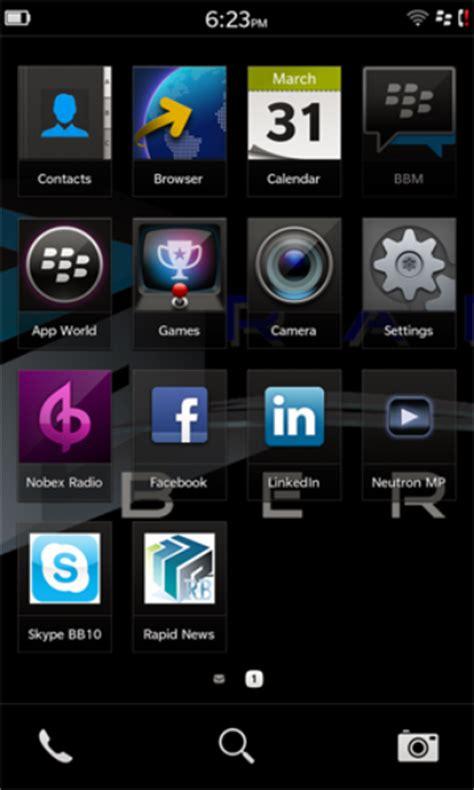 blackberry 10 inform 225 tica techtudo