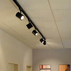 Spot Luminaire Enola LED 9W 35D Rond Pour Rail 3