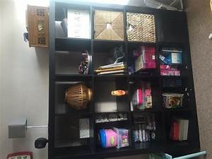 Ikea Kallax 4x4 : ikea kallax 4x4 shelving storage unit in brown black in maidstone kent gumtree ~ Frokenaadalensverden.com Haus und Dekorationen