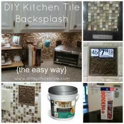 Do It Yourself Kitchen Backsplash Kitchen Tile Backsplash Do It Yourself