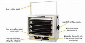 Profusion Ceiling-mount Garage Heater