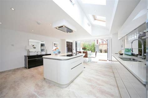 curved kitchen island designs 15 incredibly airy kitchen designs with skylights rilane