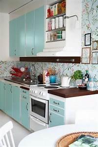 Papier Peint Cuisine Moderne : le papier peint en 52 photos pleines d 39 id es ~ Dailycaller-alerts.com Idées de Décoration