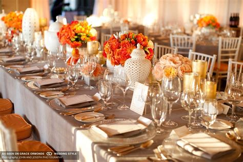 FROM KENTE TO PALETTES: ORANGE AND WHITE WEDDING