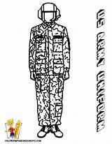 Army Coloring Uniform Print Pages Soldier Military Printable Female Yescoloring Noble sketch template