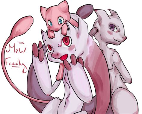 The Mew Family By Peppermintbat On Deviantart