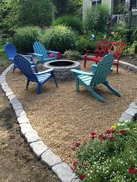 good looking crushed rock patio design ideas 80 best images about Backyard on Pinterest | Backyards ...