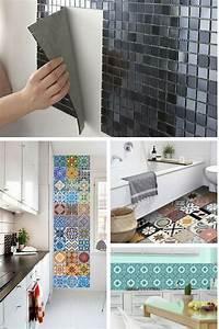 Carrelage Adhesif Pour Salle De Bain : la liste des boutiques pour acheter du carrelage adh sif en ligne accessoires diy home ~ Mglfilm.com Idées de Décoration