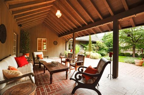 custom wood patio cover covered porch outdoor living