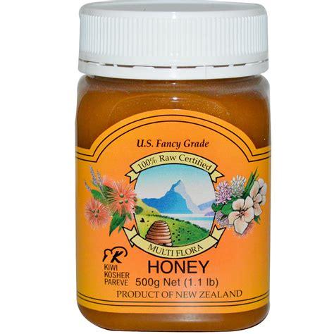 New Zealand Honey, Multi Flora Honey, 100% Raw Certified