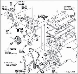 2006 Mazda 6 V6 Driver Side Engine Diagram