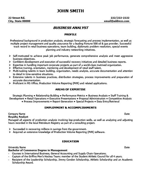 financial analyst cover letter canada business analyst resume template premium resume sles