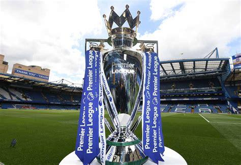 (Image) Premier League trophy ready for Chelsea's coronation