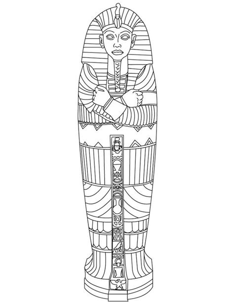 Best Egyptian Images On Pinterest Coloring Books