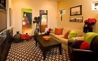 room theme ideas Decorating A Stylish & Comfy Movie Room