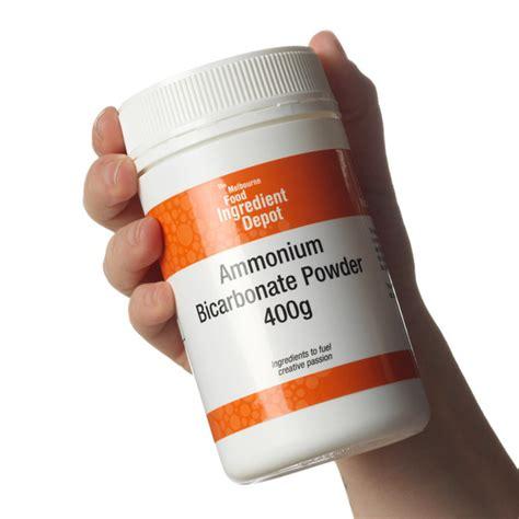 bicarbonate d ammonium cuisine ammonium bicarbonate food grade the melbourne food depot