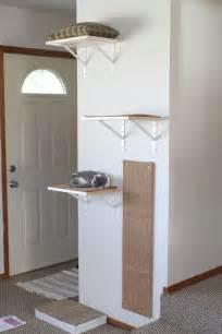 diy cat shelves diy shelves for happy active kittens 187 yellow suitcase studio