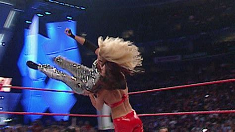 trish stratus  victoria extreme rules match raw