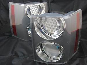 Range Rover Supercharged Clear Rear Tail Lights Genuine