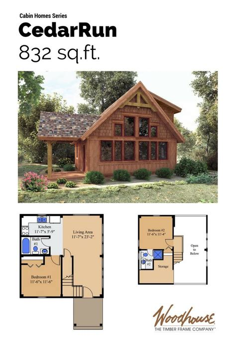 cabin floor plans loft best 25 cabin plans with loft ideas on small