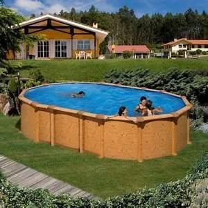 Piscine Acier Imitation Bois : piscine hors sol acier r sine achat vente chez irrijardin ~ Dailycaller-alerts.com Idées de Décoration