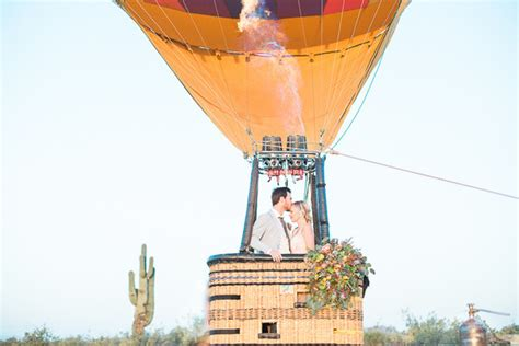 Hot Air Balloon Wedding Inspiration Wedding And Party